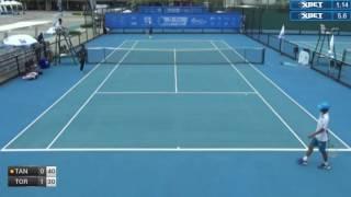ITF Tennis 21.06.2017 Ryota Tanuma (Japan) - Teeradon Tortrakul (Thailand) 2:0 (6-2 6-2)