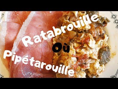 les-Œufs-brouillÉs-à-la-ratatouille-de-popote-😜