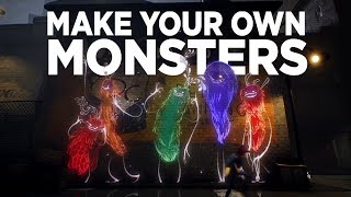 Make Your Own Monster in Concrete Genie