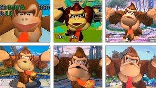 Super Smash Bros Ultimate | Donkey Kong Evolution | 1999-2018