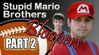 Stupid Mario Brothers Football - Part 2 Bloopers