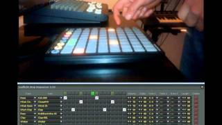 Launchpad Step Sequencer Lauflicht Part 1