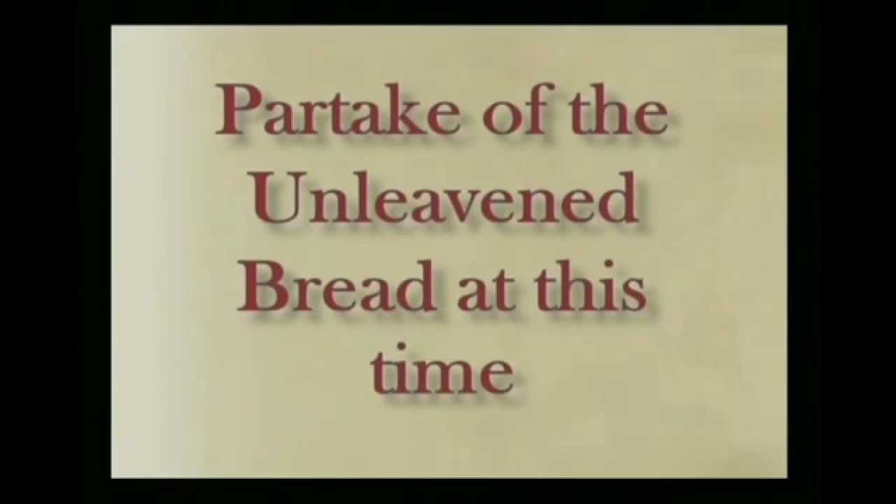 Online Passover Seder - Just follow along