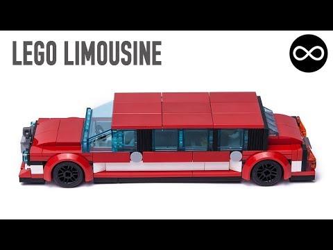 Lego City Limousine Moc Youtube