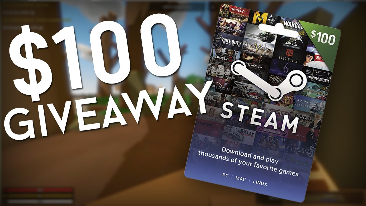 free steam giftcard giveaway