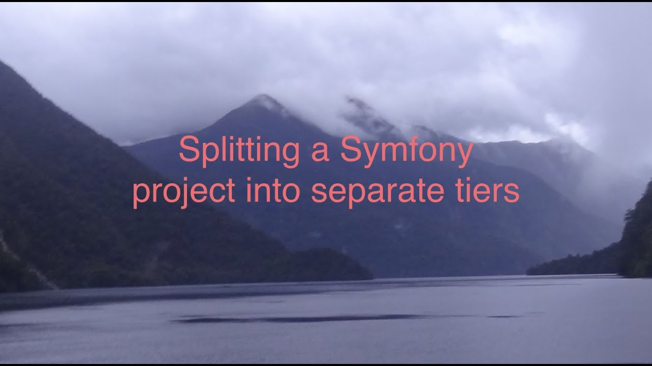 Splitting a Symfony project into separate tiers   ig nore me