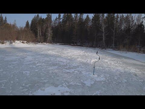 Рыбалка на реке Рыбная. Кордон 02.04.18 (Проверка нового места)