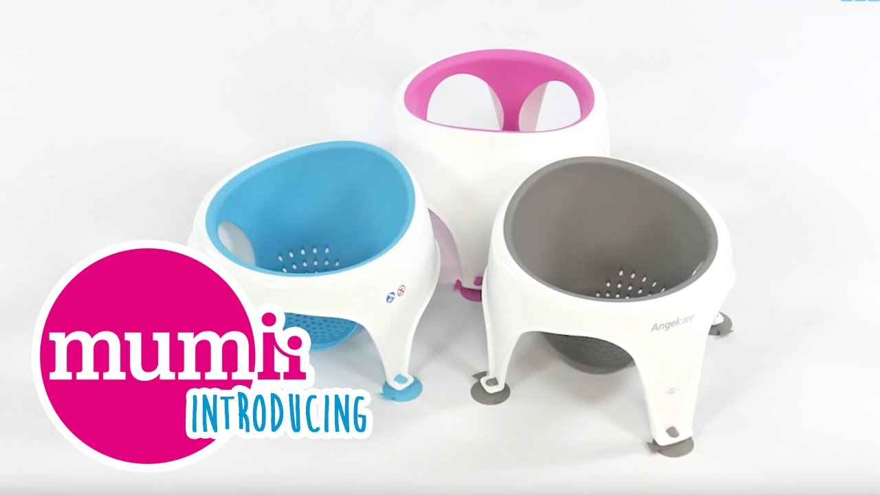 Introducing... The Angelcare Soft Touch Baby Bath Seat - YouTube