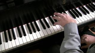 (1/5) How to play Bethena, left hand part 1 | Cory Hall, pianist-composer