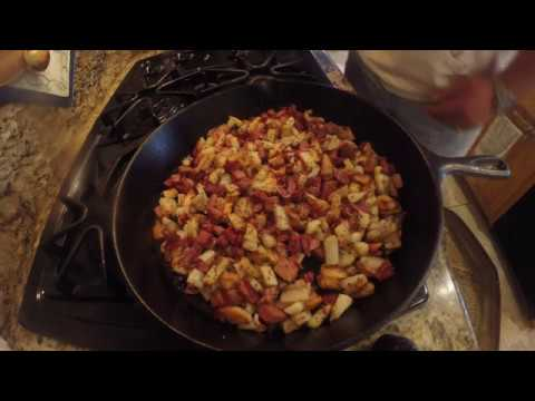 How-to cook corned beef hash with leftover corned beef