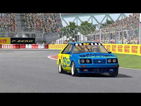 ARW Group A - Round 2 - Montreal - Qualy/Race
