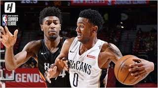 Miami Heat vs New Orleans Pelicans - Full Game Highlights   July 13, 2019 NBA Summer League