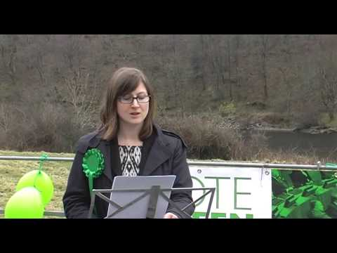 Wales Green Party Campaign Launch - March 2016