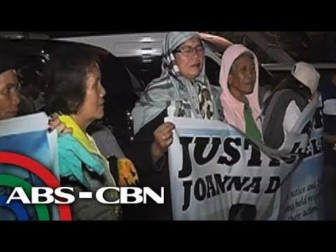 TV Patrol: Higit 200 katao, sinalubong ang labi ni Demafelis sa Iloilo