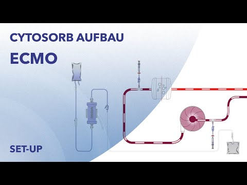 CytoSorb ECMO Integration - Deutsch - Animation