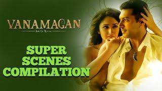 Vanamagan - Super Scenes Compilation | Jayam Ravi | Sayesha Saigal |  A. L. Vijay | Harris Jayaraj
