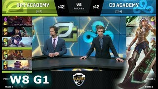Video OpTic Gaming Academy vs Cloud 9 Academy | Week 8 of S8 NA Academy League Spring 2018 | OPTA vs C9A download MP3, 3GP, MP4, WEBM, AVI, FLV Agustus 2018