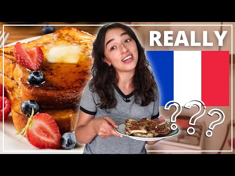 IS FRENCH TOAST REALLY FRENCH?! // Making French Toasts While Talking About French Toasts