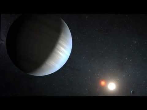 First Solar System Found Around Double Star - Planet in Habitable Zone   NASA Kepler Space Telescope