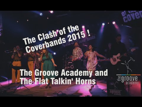 the Groove Academy / The Clash of the Coverbands 2015