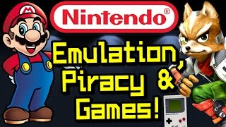 Nintendo EMULATION PATENT, New Games Soon, Piracy Update, Star Fox Wii U & More!