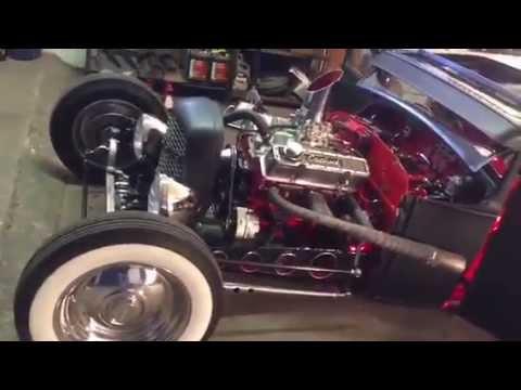 Hot Rod Pullover Long Fellows V8 Garage Rockabilly  Rat Zündkerze