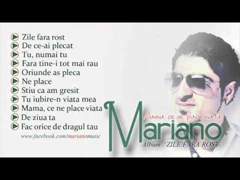 MARIANO - Amintirea ta