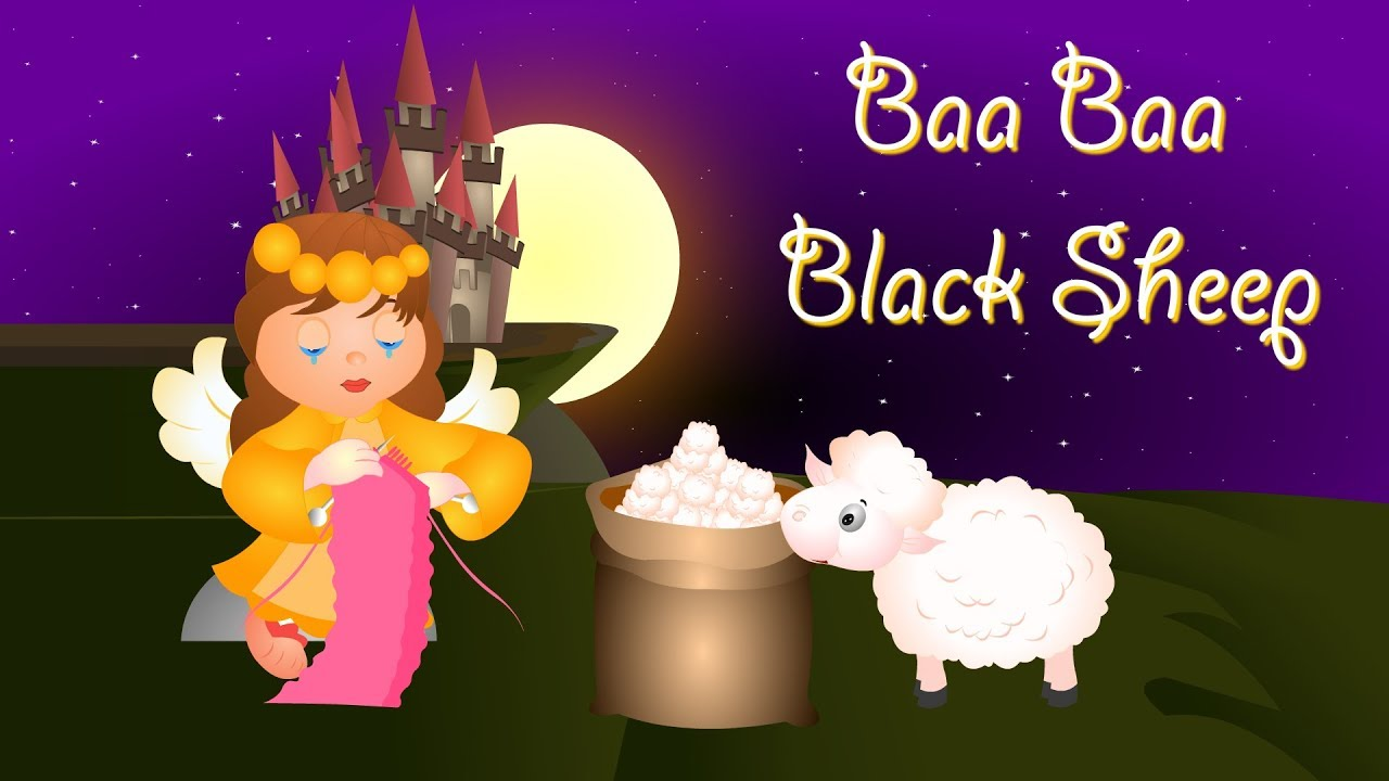 Baa Baa Black Sheep | English Rhymes | Nursery Rhymes Songs For Children