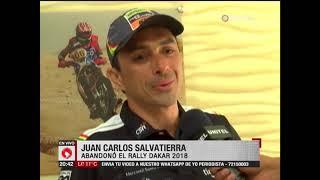 Chavo Salvatierra ya no correrá el Dakar en motos