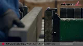 WINKEL Standard NbV Profil  |  Feinrichten der U Profile(Die fertigungsbedingte Längswölbung der WINKEL Profile in x- und y-Richtung beträgt ± 1,0 mm / lfm. Um eine bessere Gradheit der Profile zu erreichen, ..., 2013-09-20T09:23:27.000Z)