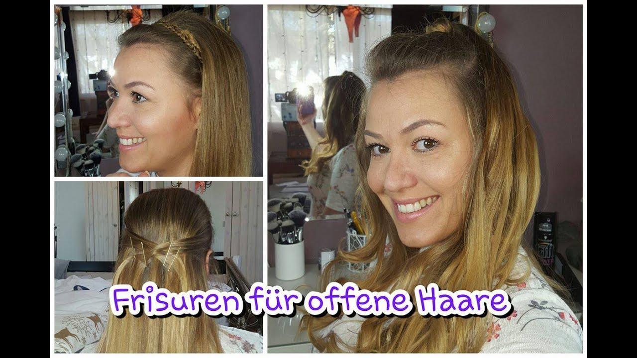 Schöne Frisuren Für Offene Haare Youtube