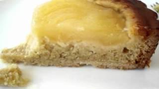 Como Fazer Uma Perfeita French Pear & Almond Tart Recipe By Lydia Tam