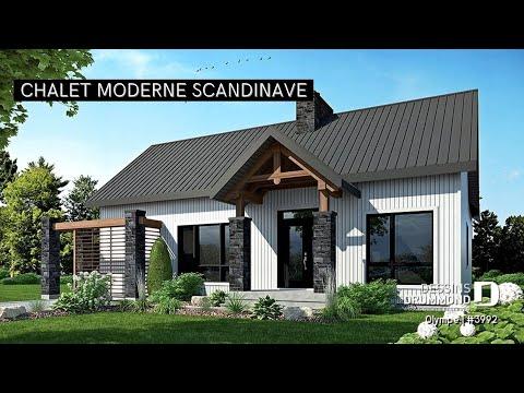 Plan de maison no w3992 de dessins drummond youtube for Agessa ou maison des artistes
