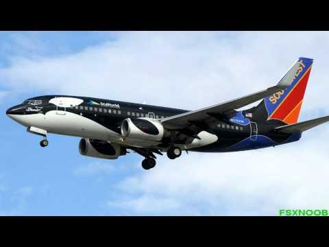 FSX Southwest Airlines 737 Special Paints