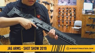 Shot Show 2019 - Jag Arms & Echo 1 Airsoft