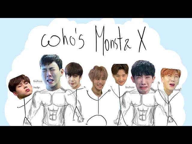 Who's Monsta X | members and funny moments