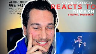 VOCAL COACH reacts to DIMASH - Sinful Passion  ~ Димаш Құдайберген Грешная страсть, Новая Волна