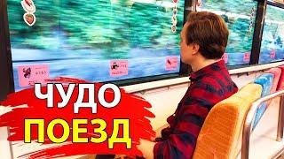 Как круто ездить по Японии. Чудо-поезд в Сидзуоке | Япония для чайников