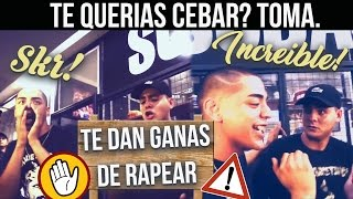IMPOSIBLE NO CEBARSE con estos FLOWS | Batallas de Rap