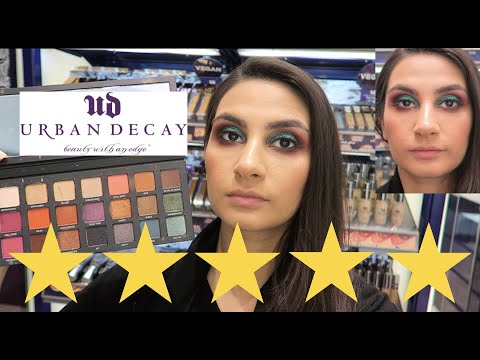 I WENT TO THE BEST REVIEWED MAKEUP ARTIST AT URBAN DECAY IN DUBAI !