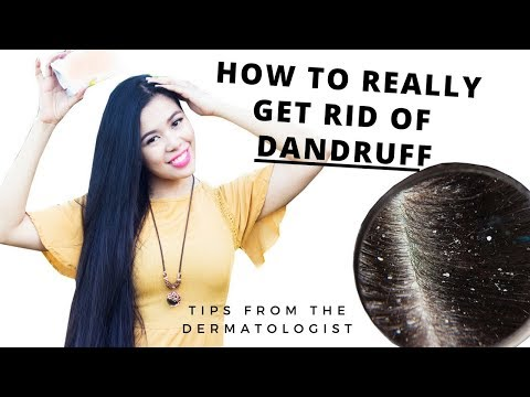 How To Really Get Rid of Dandruff-Oily Hair-Dry Scalp-Tips From My Dermatologist-Beautyklove