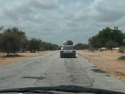 Border Senegal-Mauritania