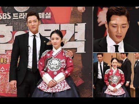 Choi Jin Hyuk ❤️ Jang Na Ra At The Empress Dignity Press Meet !!