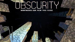 "Minecraft  ""Obscurity FTB"" #01 = Pesadelos Habitam Esse Lugar  (modpack HQM) xD"