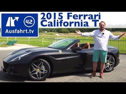 2015 Ferrari California T - Fahrbericht der Probefahrt, Test, Review (German)