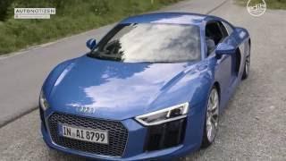2016 Audi R8 V10 Fahrbericht, Review, Test. Laut und schnell. Aber auch praktisch?
