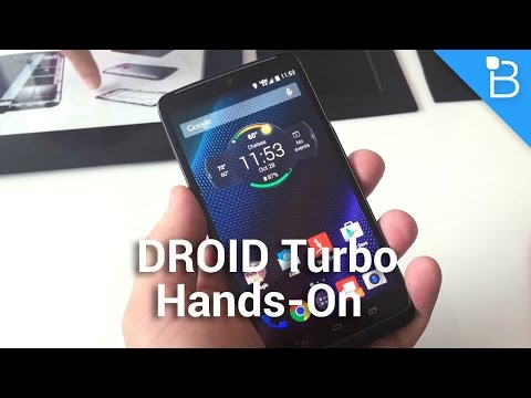 DROID Turbo Hands-On