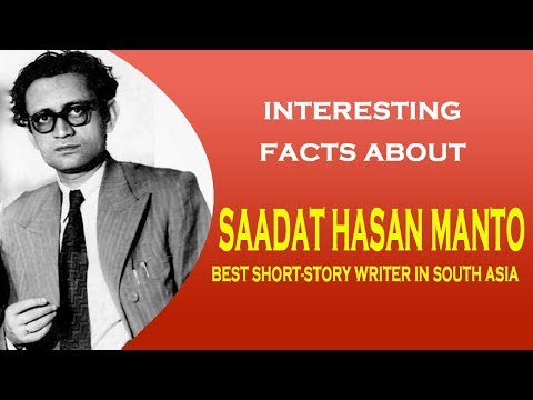 Interesting facts about Saadat Hasan Manto - Best short story writer in South Asia
