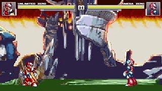 MUGEN - Unlimited Zero [Arcade Playthrough #2]
