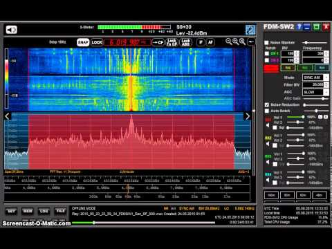 Great sound on shortwave from China Radio International (received on Elad FDM-S2)